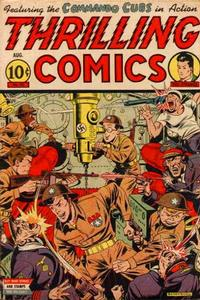 Cover Thumbnail for Thrilling Comics (Pines, 1940 series) #43