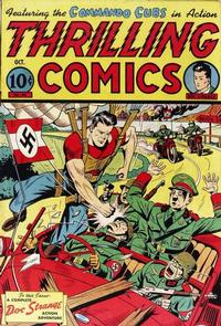 Cover Thumbnail for Thrilling Comics (Pines, 1940 series) #44