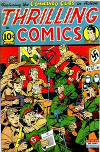 Cover Thumbnail for Thrilling Comics (Pines, 1940 series) #45