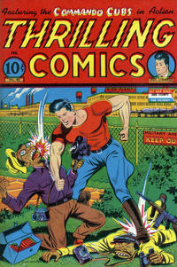 Cover Thumbnail for Thrilling Comics (Pines, 1940 series) #46