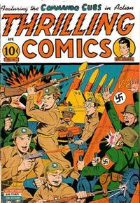 Cover Thumbnail for Thrilling Comics (Pines, 1940 series) #47