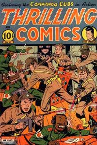 Cover Thumbnail for Thrilling Comics (Pines, 1940 series) #49