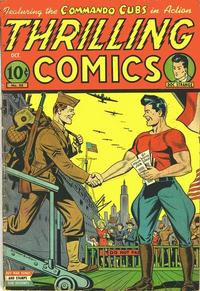 Cover for Thrilling Comics (Pines, 1940 series) #50