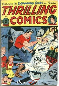 Cover Thumbnail for Thrilling Comics (Pines, 1940 series) #52