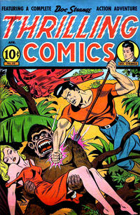 Cover Thumbnail for Thrilling Comics (Pines, 1940 series) #53