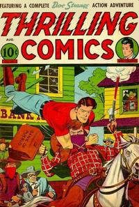 Cover Thumbnail for Thrilling Comics (Pines, 1940 series) #55
