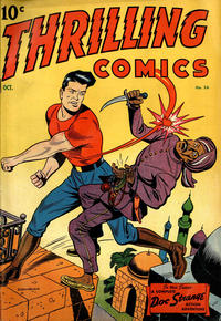Cover Thumbnail for Thrilling Comics (Pines, 1940 series) #56