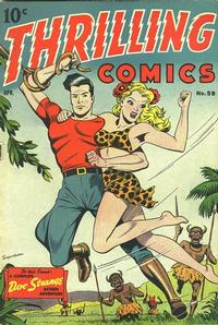 Cover Thumbnail for Thrilling Comics (Pines, 1940 series) #59
