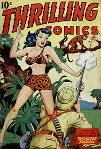 Cover Thumbnail for Thrilling Comics (Pines, 1940 series) #60