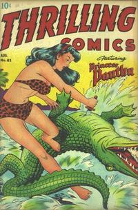 Cover Thumbnail for Thrilling Comics (Pines, 1940 series) #61