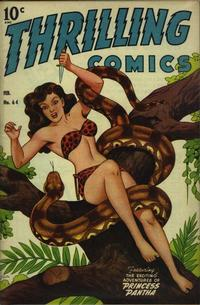 Cover Thumbnail for Thrilling Comics (Pines, 1940 series) #64