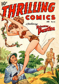Cover Thumbnail for Thrilling Comics (Pines, 1940 series) #66