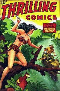 Cover Thumbnail for Thrilling Comics (Pines, 1940 series) #67
