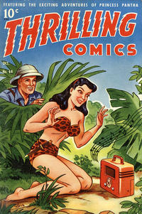 Cover Thumbnail for Thrilling Comics (Pines, 1940 series) #68