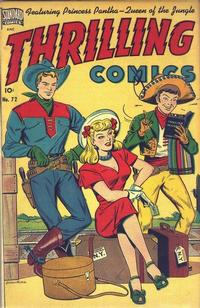 Cover Thumbnail for Thrilling Comics (Pines, 1940 series) #72