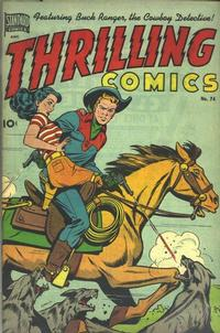 Cover Thumbnail for Thrilling Comics (Pines, 1940 series) #74