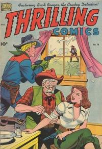 Cover Thumbnail for Thrilling Comics (Pines, 1940 series) #78