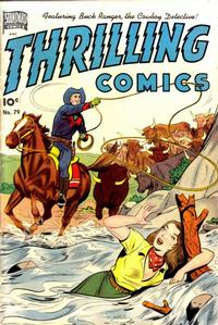 Cover Thumbnail for Thrilling Comics (Pines, 1940 series) #79