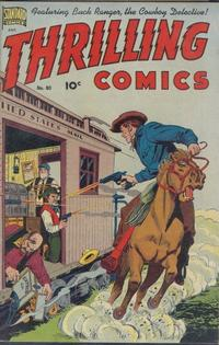 Cover Thumbnail for Thrilling Comics (Pines, 1940 series) #80