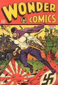 Cover Thumbnail for Wonder Comics (Pines, 1944 series) #1