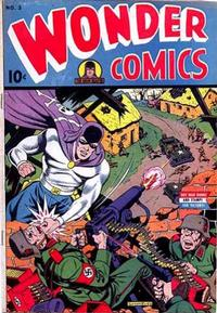 Cover Thumbnail for Wonder Comics (Pines, 1944 series) #3