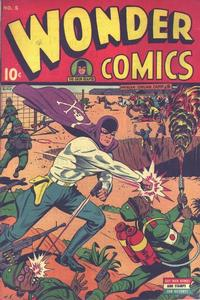 Cover Thumbnail for Wonder Comics (Pines, 1944 series) #5