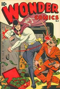 Cover Thumbnail for Wonder Comics (Pines, 1944 series) #8