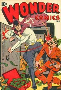Cover Thumbnail for Wonder Comics (Pines, 1944 series) #8