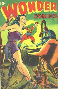 Cover Thumbnail for Wonder Comics (Pines, 1944 series) #12