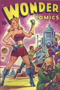 Cover Thumbnail for Wonder Comics (Pines, 1944 series) #17