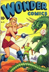 Cover Thumbnail for Wonder Comics (Pines, 1944 series) #18