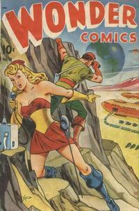 Cover Thumbnail for Wonder Comics (Pines, 1944 series) #19