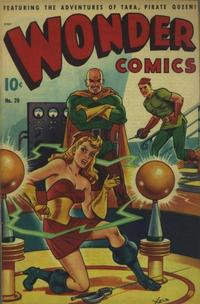 Cover Thumbnail for Wonder Comics (Pines, 1944 series) #20