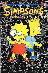 Cover Thumbnail for Simpsons Comics (Bongo, 1993 series) #3