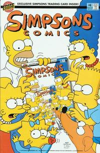 Cover for Simpsons Comics (Bongo, 1993 series) #4