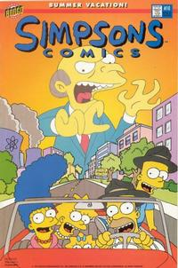 Cover Thumbnail for Simpsons Comics (Bongo, 1993 series) #10