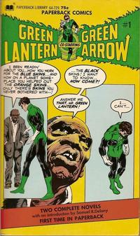 Cover Thumbnail for Green Lantern and Green Arrow (Paperback Library, 1972 series) #1 (64-729)