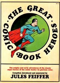 Cover Thumbnail for The Great Comic Book Heroes (Dial Press, 1965 series)