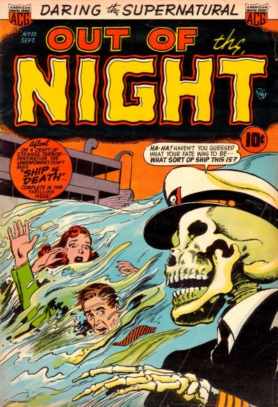 Cover for Out of the Night (American Comics Group, 1952 series) #10