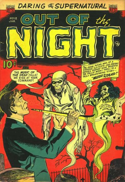 Cover for Out of the Night (American Comics Group, 1952 series) #12