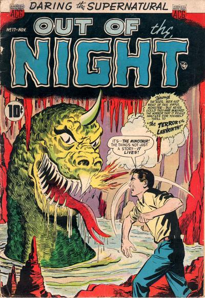 Cover for Out of the Night (American Comics Group, 1952 series) #17