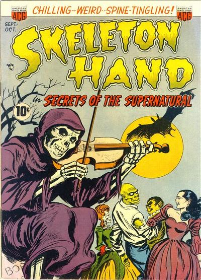 Cover for Skeleton Hand in Secrets of the Supernatural (American Comics Group, 1952 series) #1