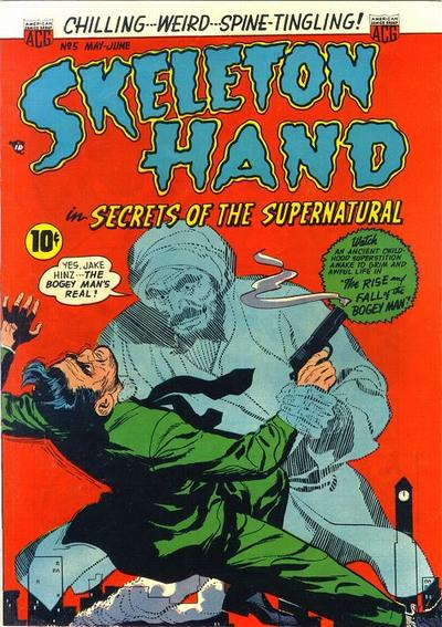 Cover for Skeleton Hand in Secrets of the Supernatural (American Comics Group, 1952 series) #5
