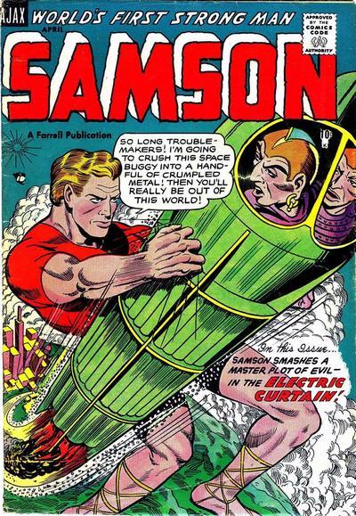 Cover for Samson (Farrell, 1955 series) #12