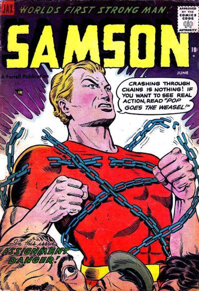 Cover for Samson (Farrell, 1955 series) #13