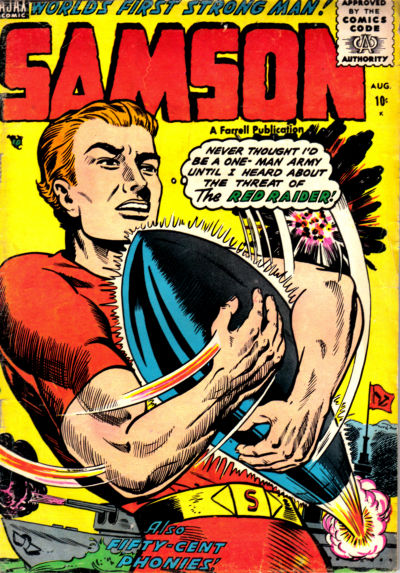 Cover for Samson (Farrell, 1955 series) #14