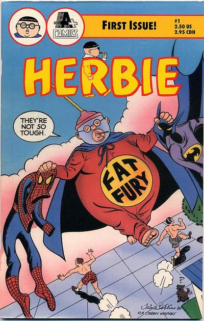 Cover for Herbie (A-Plus Comics, 1990 series) #1