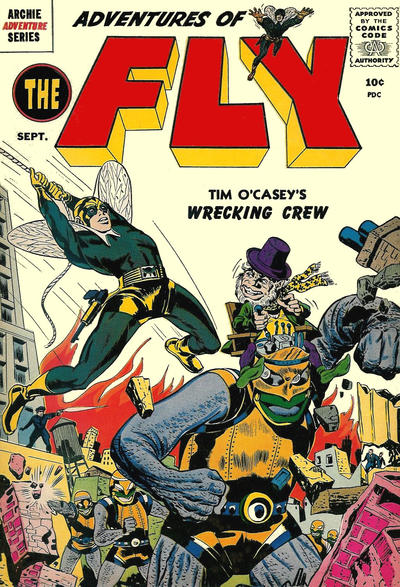 Cover for The Fly [Adventures of The Fly] (Archie, 1959 series) #2