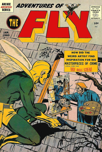 Cover for The Fly [Adventures of The Fly] (Archie, 1959 series) #4