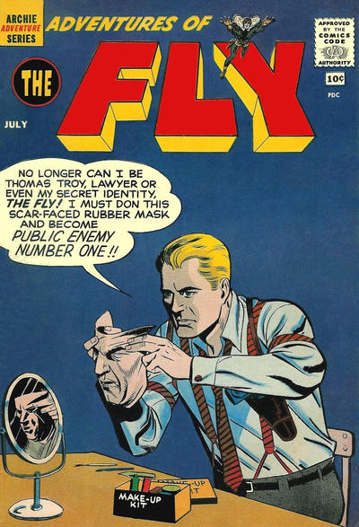 Cover for Adventures of The Fly (Archie, 1960 series) #7